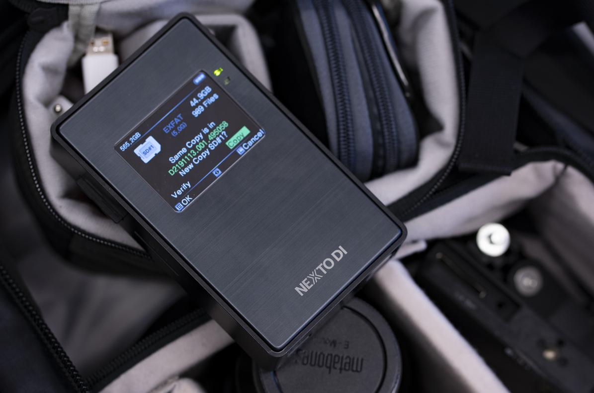 Part 1 Review: The NextoDI NPS-10, a superfast all-in-one on location backup hub