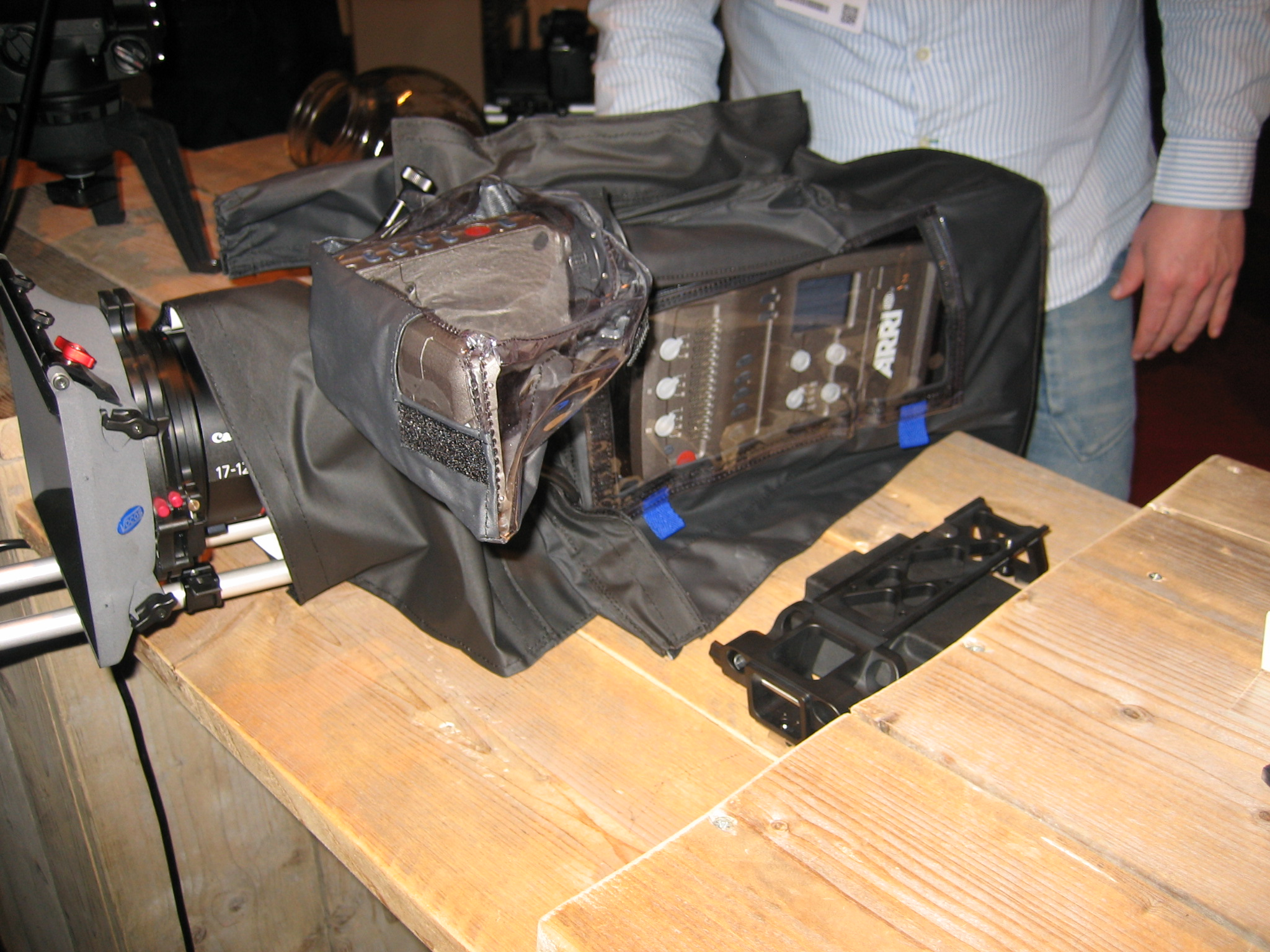 camRade designs rain cover for the ARRI AMIRA