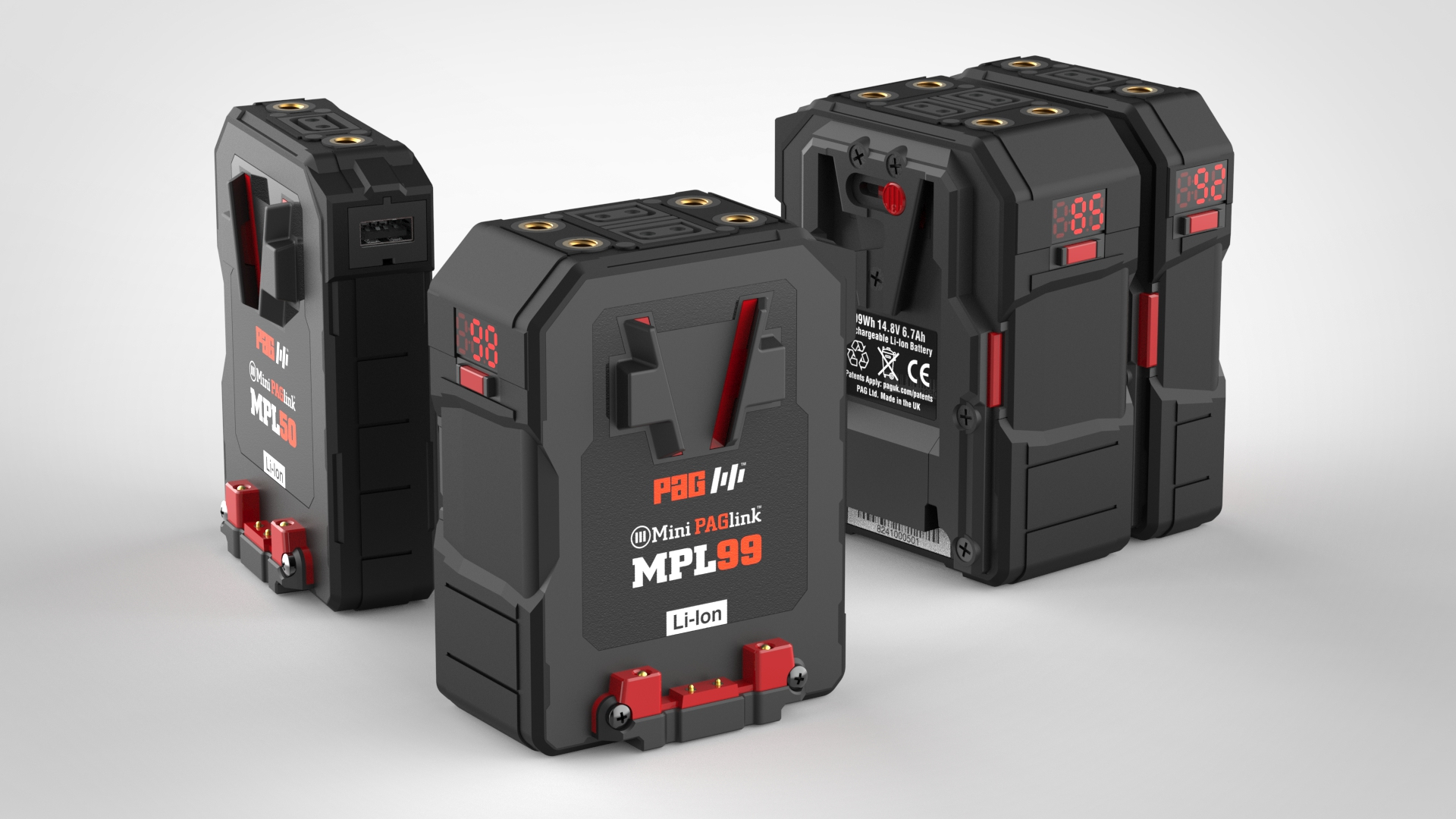 PAG launches Mini PAGlink V-Mount Batteries